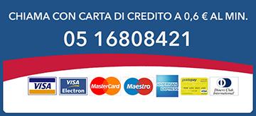 TARIFFA CON CARTA DI CREDITO